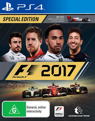 F1 2017 Special Edition PlayStation 4 Game NEW