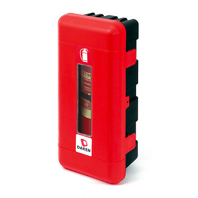 DAKEN Fire Extinguisher Box / Cabinet. For 9kg Fire Extinguishers