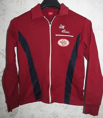 Rare Vintage Giacca Jacket Track Suit Top Converse All Star Size S Italy Vintage