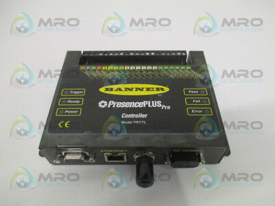 Banner Presenceplus Pro Ppctl Ethernet Controller *used*