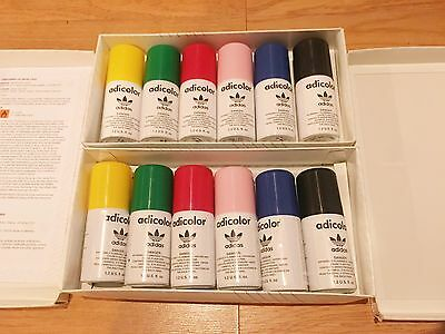 New 2006 Adidas Adicolor Montana Collectible 6 Pack 1.2 Fl Oz Spray Paint Cans