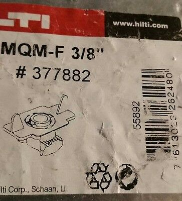 "Hilti Wing Nut MQM-F 3/8"" HDG LOT OF 10 Pcs Stainless # 377882 New"