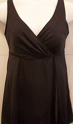 5118 PLUS SIZE 1 PC Neutral Brown Swimsuit Swimdress   Many Sizes  NWOT