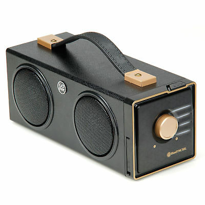 Portable Bluetooth Speaker with AUX Input & Rechargeable Battery
