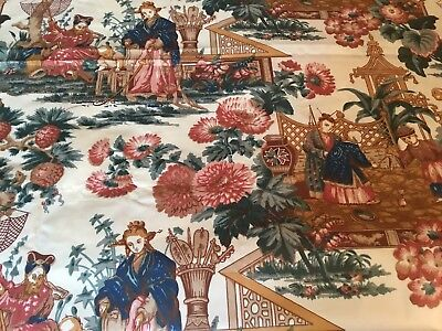 Chinoiserie Hand Print Fabric Bailey And Griffin