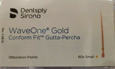 Small Waveone Gold Wave One Gutta Percha Points Dental Endodontic Root Canal