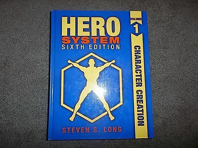 Hero System 6th Ed Character Creation Volume 1