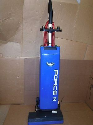 """Sandia 60-1000 Force 14"""" Upright Twin Motor Commercial Vacuum"""