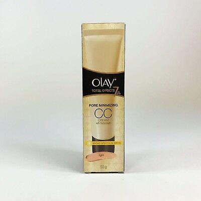OLAY Total Effects 7-in-1 Pore Minimising CC Cream SPF 15 Light 50g