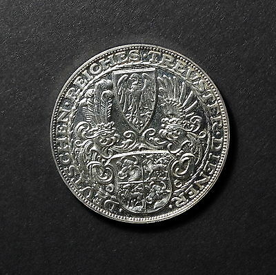 1927 GERMAN EMPIRE/BAVARIA, Large SILVER 5 Reichsmark Crown, AU+++