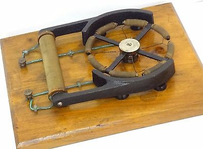 Antique 1880 Gramme Electric Motor Demo Sci Lab Demonstration Model Very Rare