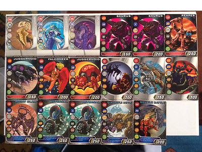 HUGE! Bakugan Booster Pack of Gate Cards x 26 + Ability Cards x 14