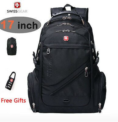 SwissGear Waterproof Versatile Macbook Laptop Backpack Hike Travel Bag Schoolbag