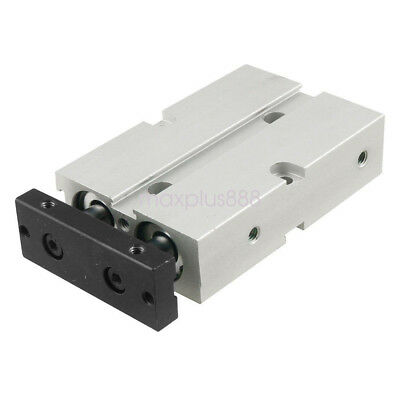 TN16X20  Dual Action 16mm Bore 20mm Stroke Double Rod Pneumatic Air Cylinder
