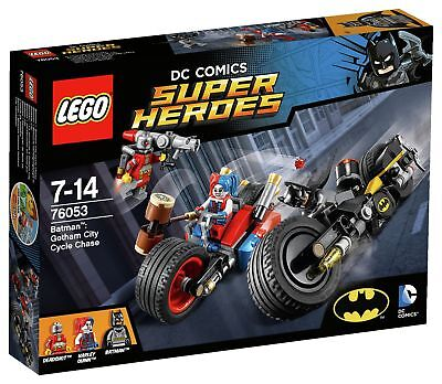 LEGO DC Comics Super Heroes Gotham City Cycle Chase - 76053 - Argos eBay