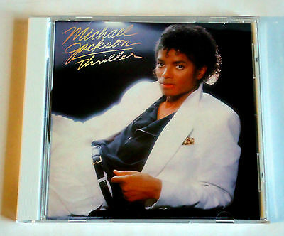 """MICHAEL JACKSON Thriller JAPAN CD 2009 DYCP-1592 from BOX """"The Collection"""""""