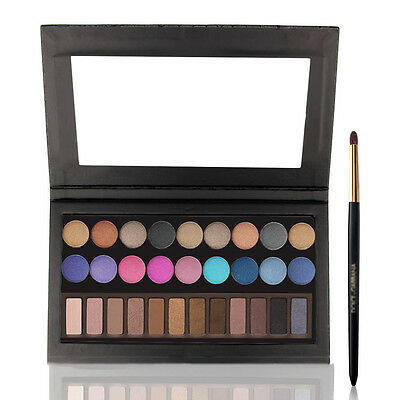 Empty Magnetic Cosmetic Eye-Shadow Palette Blank Make-Up Plate Collection New