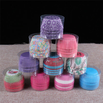 100pcs Mini Cupcake Paper Cake Liner Case Wrapper Muffin Baking Cup Party Decor
