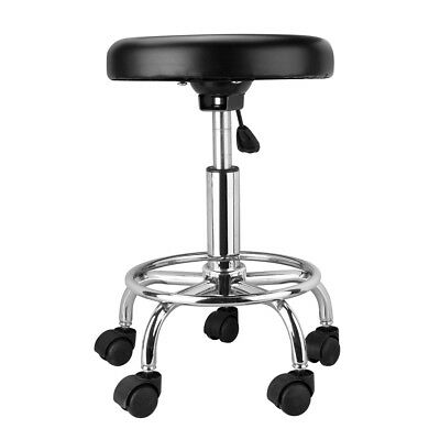 Salon Stool Hairdressing Chair Barber Beauty Swivel Hydraulic Lift Round Black