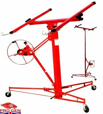 New Top Quality Mobile 11Ft Drywall Lift Hoist Plasterboard Panel Lifter