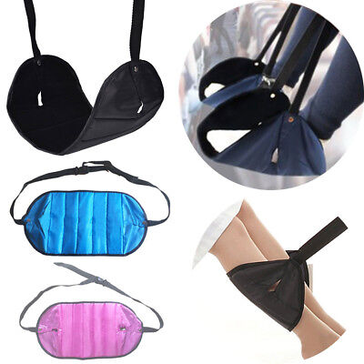 Portable Mini Feet Hammock For Outdoor Aircraft Home Office Foot Rest Stand Desk