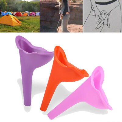 Women Lady Portable Urinal Camping Travel Urination Device Urine Funnel Toilet