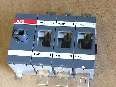 ABB OT315E03 Switch Disconnector / Load Switch 315A