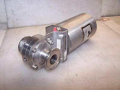 """Tri-Clover 3/4"""" Sanitary Stainless Air Actuated Butterfly Valve Type Lkb"""