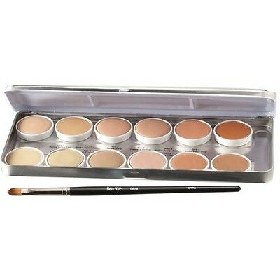 *SALE* Ben Nye Media Pro HD Concealer Palette 12 Colours