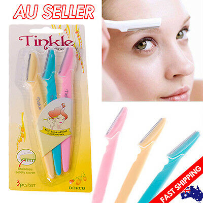 Eyebrow Razor Facial Trimmer Shaper Shaver Blade Hair Remover Beauty Tool Tinkle