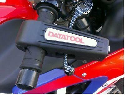 Datatool Motorcycle Scooter Security Handlebar Throttle Grip Croc Lock Black
