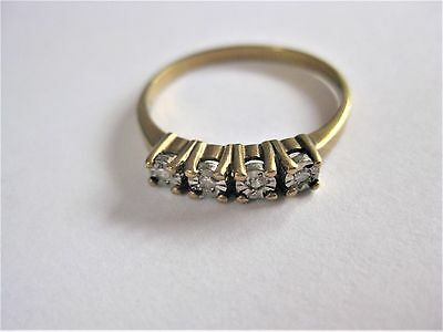 Ring Gold 333 mit Brillanten, 1,62 g