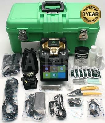 INNO View 7 SM MM Core Alignment Fiber Fusion Splicer w/ VF-15H Cleaver