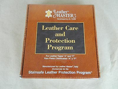 Leather Master by Dr. Tork Leather Care Protection Program Types A, P Italy