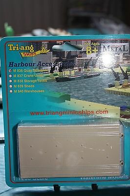 Triang Minic Three Quay units. Carded