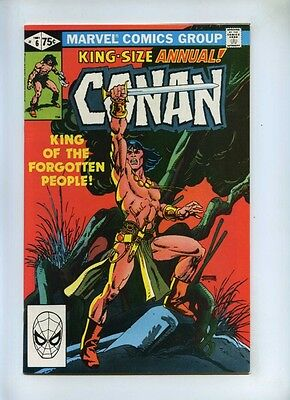 Conan the Barbarian Annual 6 - Marvel 1981 - NM- - Gil Kane