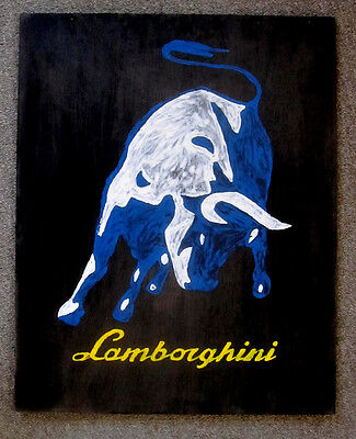 Lamborghini Art Original painting
