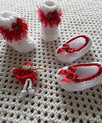 Baby booties and shoes 0-3 months