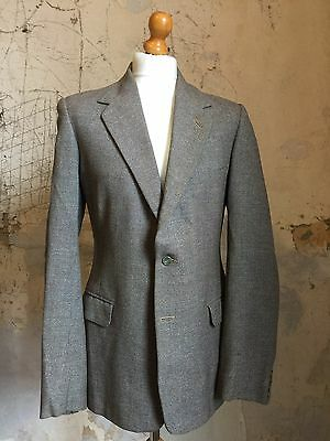 ARC 44 TALLA 40 largo de 1930 2 BOTONES Tweed Traje