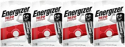4x Energizer CR1620-C1 Litihium 3V Coin Cell CR 1620 Batteries (4 Batteries)