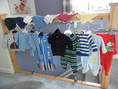 Baby Boy Clothes Bundle.15 Items 0-3 Months.assorted