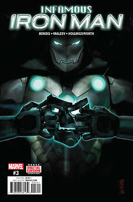 INFAMOUS IRON MAN #3 (MARVEL 2016 1st Print) COMIC