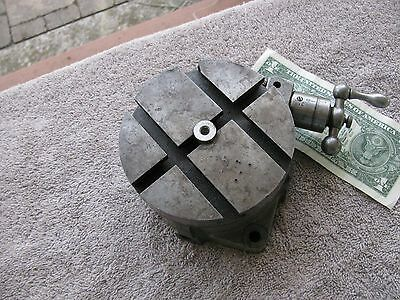 """South Bend 4 1/2"""" rotary table machinist toolmaker tool"""