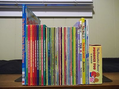 Lot of 60 Berenstain Bears - First Time Books, Readers, Living Lights, Phonics