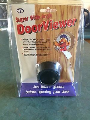 Super Wide Angle Door Viewer: STILL SEALED