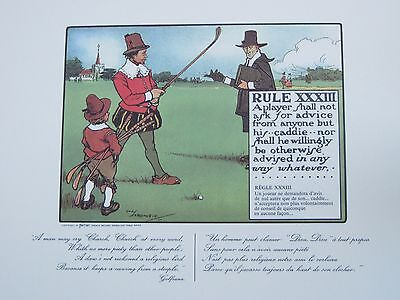 Charles Crombie (1880-1967): Golf Rules
