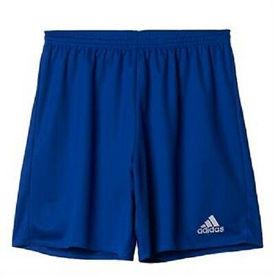 Adidas Parma 16 Football Shorts Bold Blue Kids Ages 7 To 14 Years  Bnwt