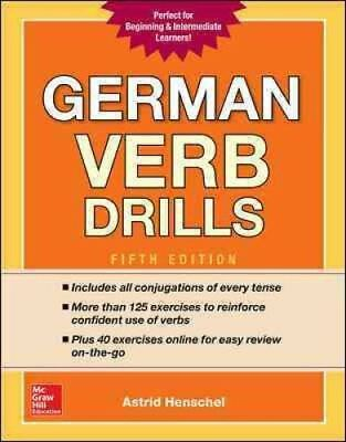 German Verb Drills by Astrid Henschel (Paperback, 2017)