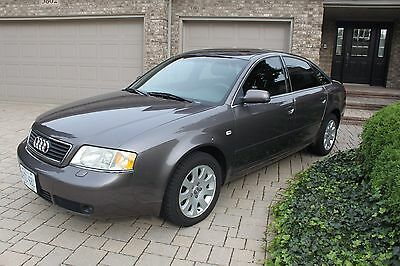 Audi: A6 Quattro 2000 Audi A6 2.8L Quattro FOR SALE - Excellent Condition !!