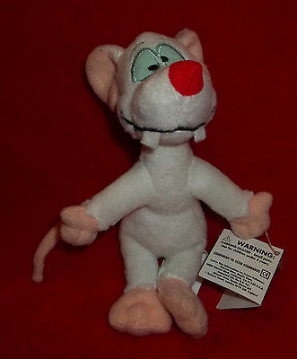 Warner Brothers Bros Studio Store Pinky and The Brain Keychain Keyring Plush 6""